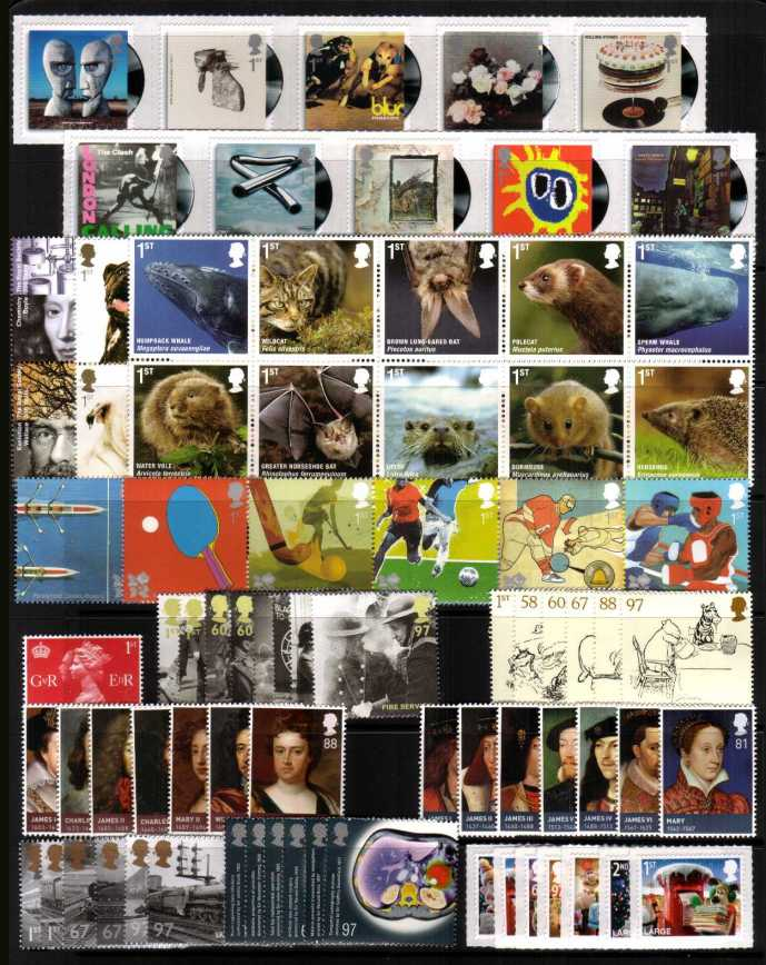 view larger image for Commemorative Year Sets -  (2010) - 13 Sets - 98 stamps