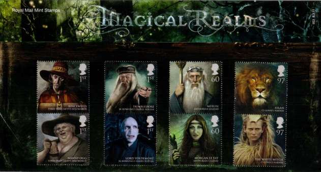 Stamp Image: view larger back view image for Magical Realms