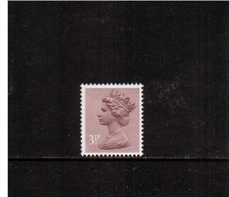 view larger image for SG X860Ey (1983) - 3½p  Purple-Brown with PHOSPHOR OMITTED<br/>A superb unmounted mint single