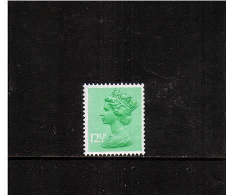 view larger image for SG X898Ey (1983) - 12�p Light Emerald with MISSING PHOSPHOR<br/>A superb unmounted mint single