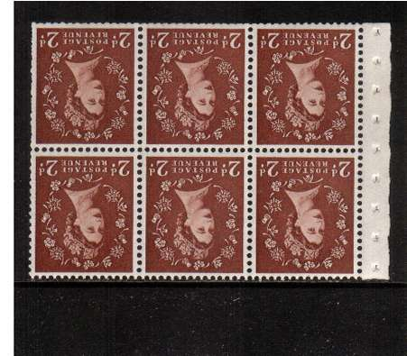 view larger image for SG SB78a (1957) - 2d Light Red-Brown - Watermark Edward Crown.<br/>