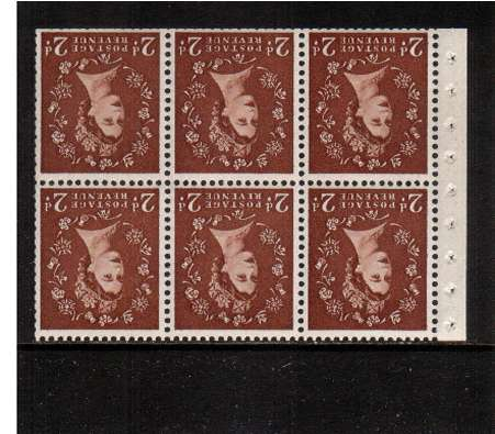view larger image for SG SB79a (1961) - 2d Light Red-Brown - Watermark Multiple  Crowns.<br/>