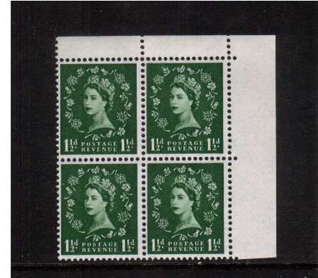 view larger image for SG 572var (1962) - 1�d Green - Watermark Multiple Crowns<br/>