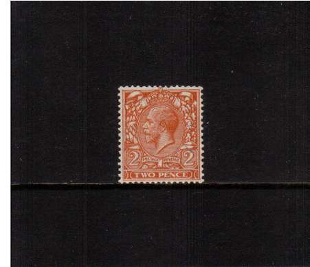 view larger image for SG 421 (1924) - 2d Orange<br/>superb unmounted mint single.