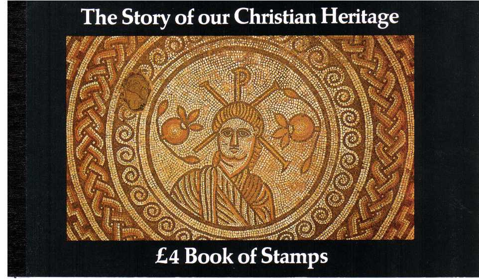 British Stamps Prestige Booklets Item: view larger image for SG DX5 (1984) - £4 - 'The Story of our Christian Heritage'