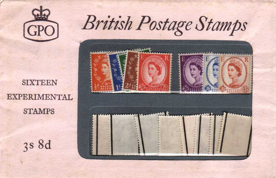 Stamp Image: view larger back view image for PHOSPHOR GRAPHITE - UK edition<br/> Never opened - superb!
