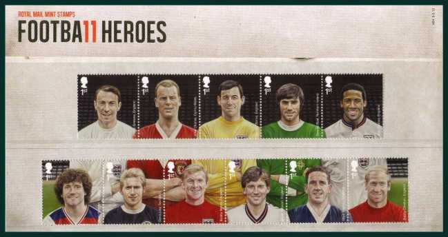 Stamp Image: view larger back view image for Football Heroes