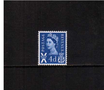 view larger image for SG S8 (1967) - 4d Deep Bright Blue - Gum Arabic