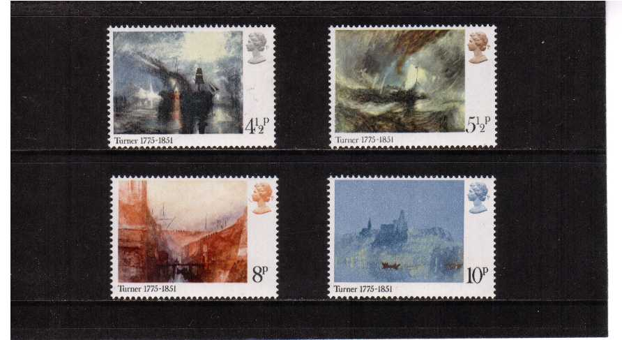 view larger image for SG 971-974 (1975) - Bicentenary of Turner set of four