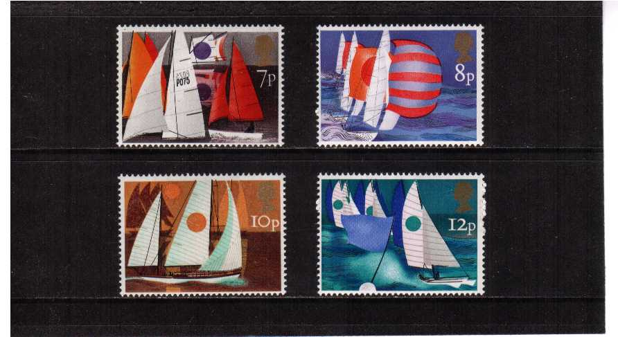 view larger image for SG 980-983 (1975) - Sailing set of four