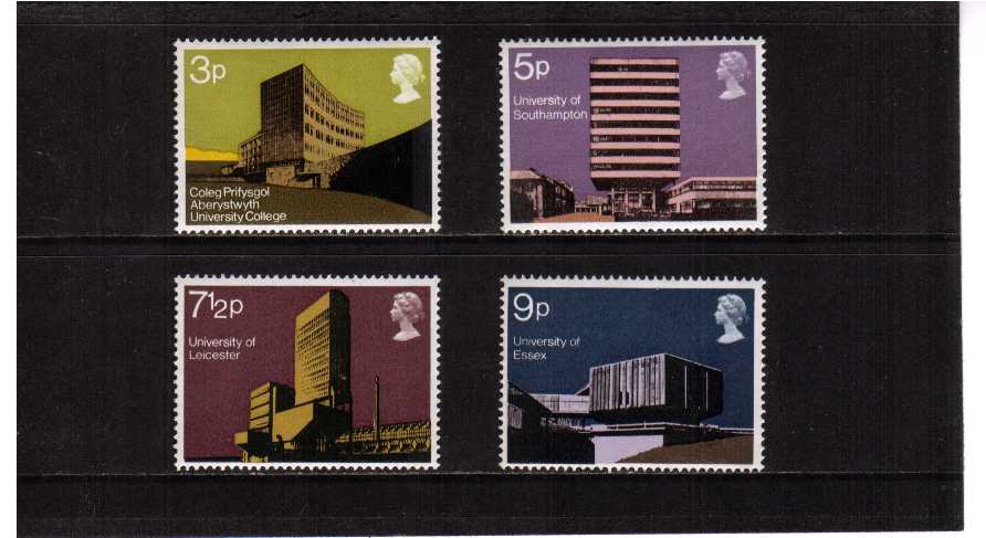 view larger image for SG 890-893 (1971) - British Architecture - University Buildings set of four