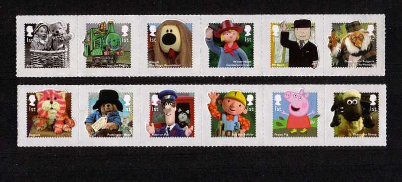 view larger image for SG 3552-3563 (2014) - Classic Children's Television<br/>