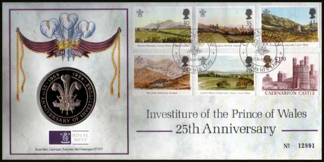 view larger image for SG RMC2 (1994) - Royal Mail and Royal Mint commemorative cover<br/> commemorating:<br/>