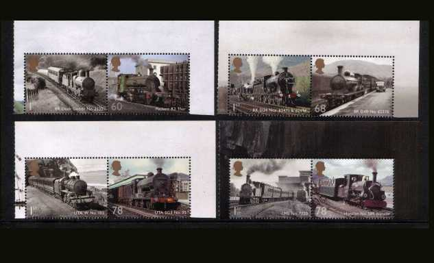view larger image for SG 3570-3577 (2014) - Classic Locomotives - Wales and United Kingdom<br/>