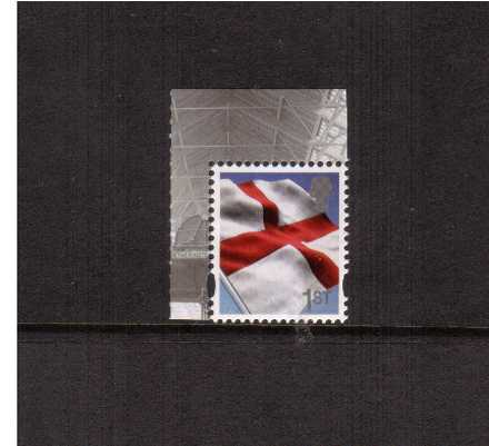 view larger image for SG EN51a (20 Feb 2014) - 1st Class - England Flag<br/>
