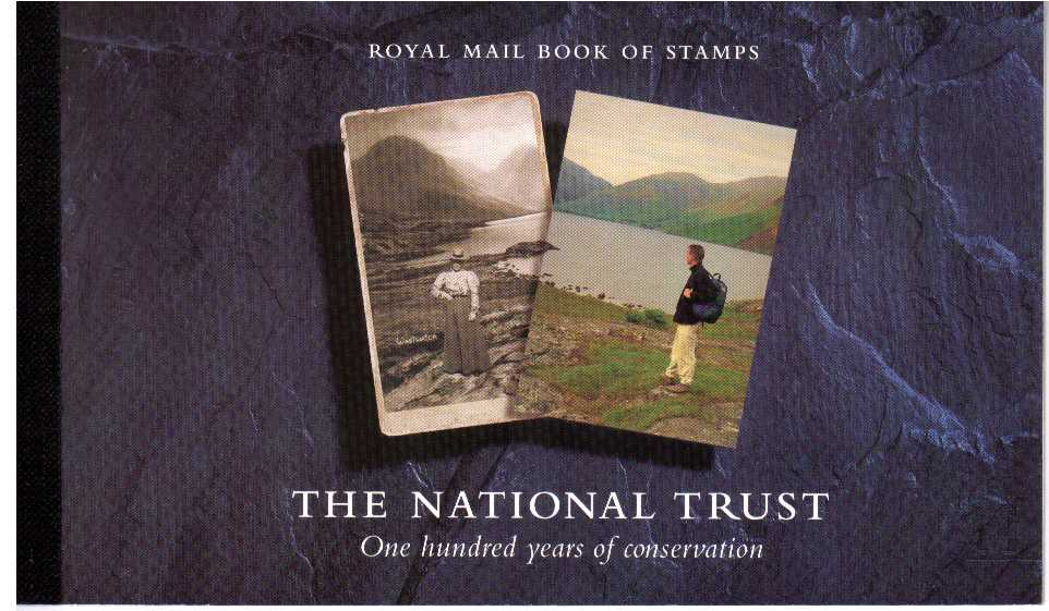 British Stamps Prestige Booklets Item: view larger image for SG DX17 (1995) - £6 - Centenary of the National Trust