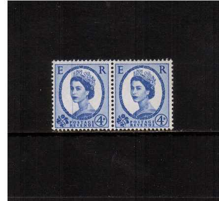 view larger image for SG 576avar (1965) - 4d Ultramaine - - Watermark Multiple Crowns<br/>