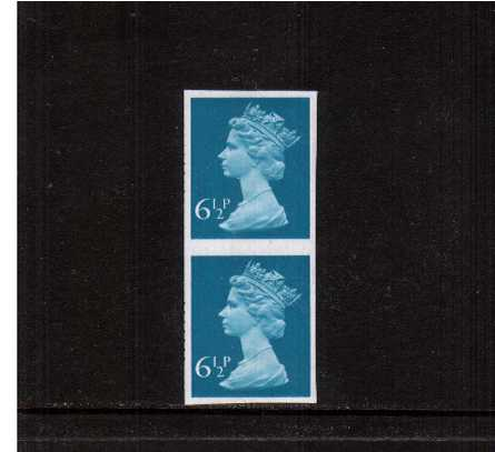 view larger image for SG X872a (1975) - 6�p Greenish-Blue - 1 Centre Band<br/>