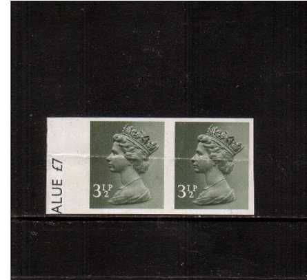 view larger image for SG X858a (1971) - 3�p Olive-Grey - 2 Bands<br/>
