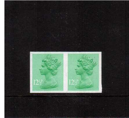 view larger image for SG X898a (1982) - 12�p Light Emerald - 1 Centre Band<br/>
