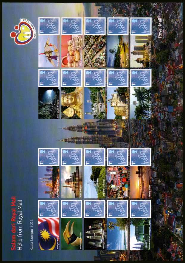 view larger image for SG LS92 (2014) - Malaysia Kuala Lumpur World Stamp Exhibition