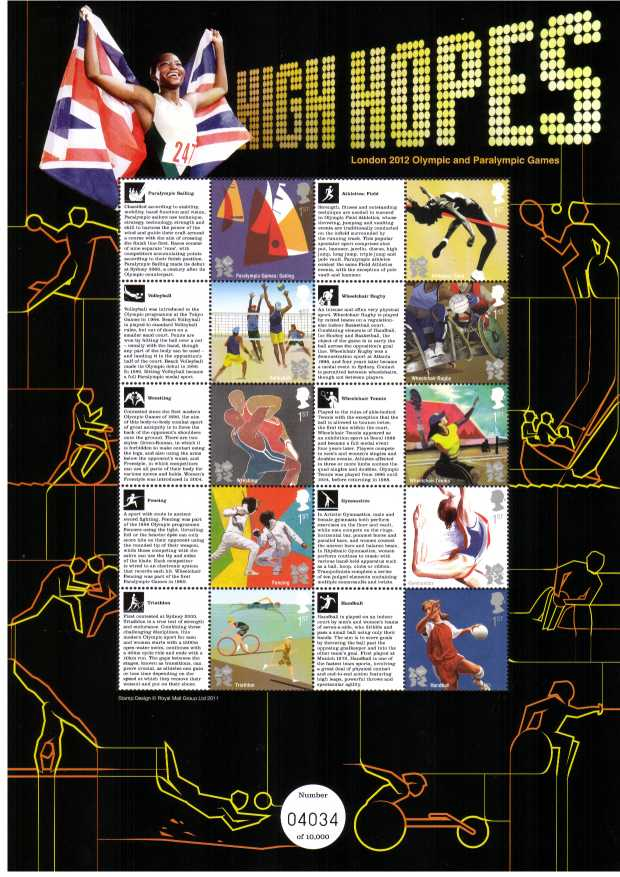 view larger image for SC-CSS-15 (2012) - Commemorative Stamp Sheets<br/>