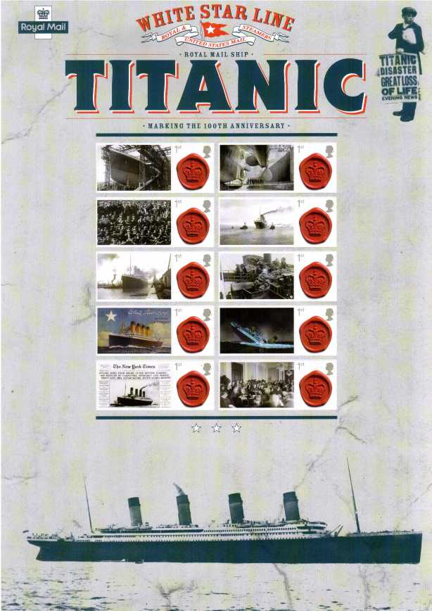 view larger image for SC-CSS-16 (2012) - Commemorative Stamp Sheets<br/>