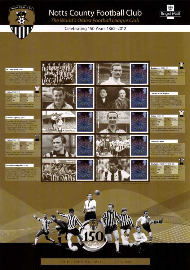 view larger image for SC-CSS-19 (2012) - Commemorative Stamp Sheets<br/>
