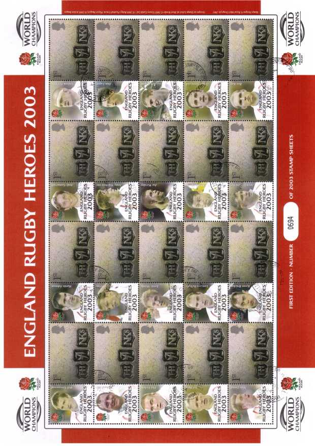 view larger image for SC-BC-016 (2003) - England Rugby Heroes 2003<br/>