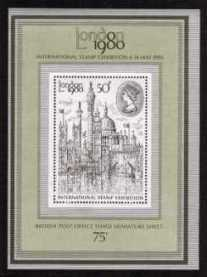 view larger image for SG MS1119 (7 May 1980) - 'London 1980' Stamp Exhibition minisheet