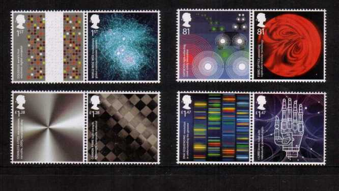 view larger image for SG 3679-3686 (2015) - Inventive Britain<br/>
