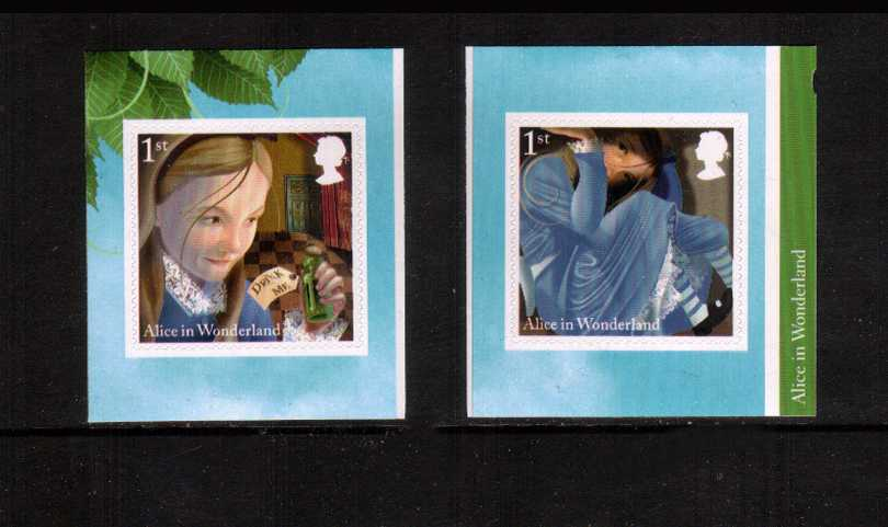 view larger image for SG 3668-3669 (2015) - Alice in Wonderland<br/>