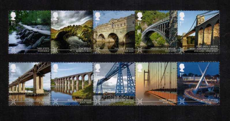 view larger image for SG 3687-3696 (2015) - Bridges<br/>