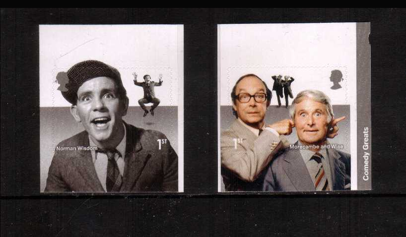 view larger image for SG 3707-3708 (2015) - Comedy Greats<br/>