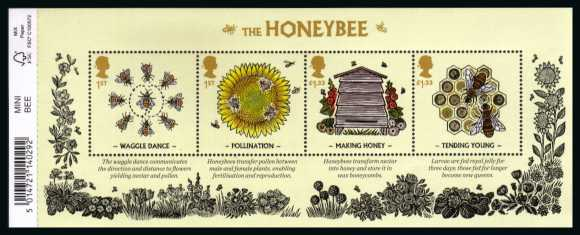 view larger image for SG MS3742 (18 Aug 2015) - The Honeybee<br/>