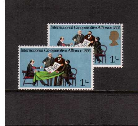 click to see a full size image of stamp with SG number SG 821a