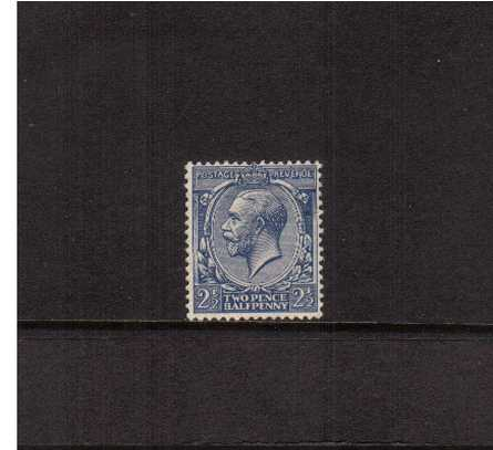 view larger image for SG 422 (1924) - 2�d Blue<br/>lightly mounted mint single