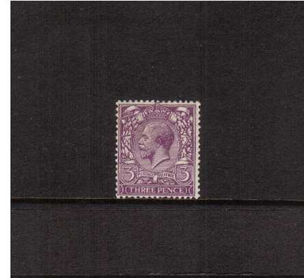 view larger image for SG 423 (1924) - 3d Violet<br/>a fine lightly mounted mint single