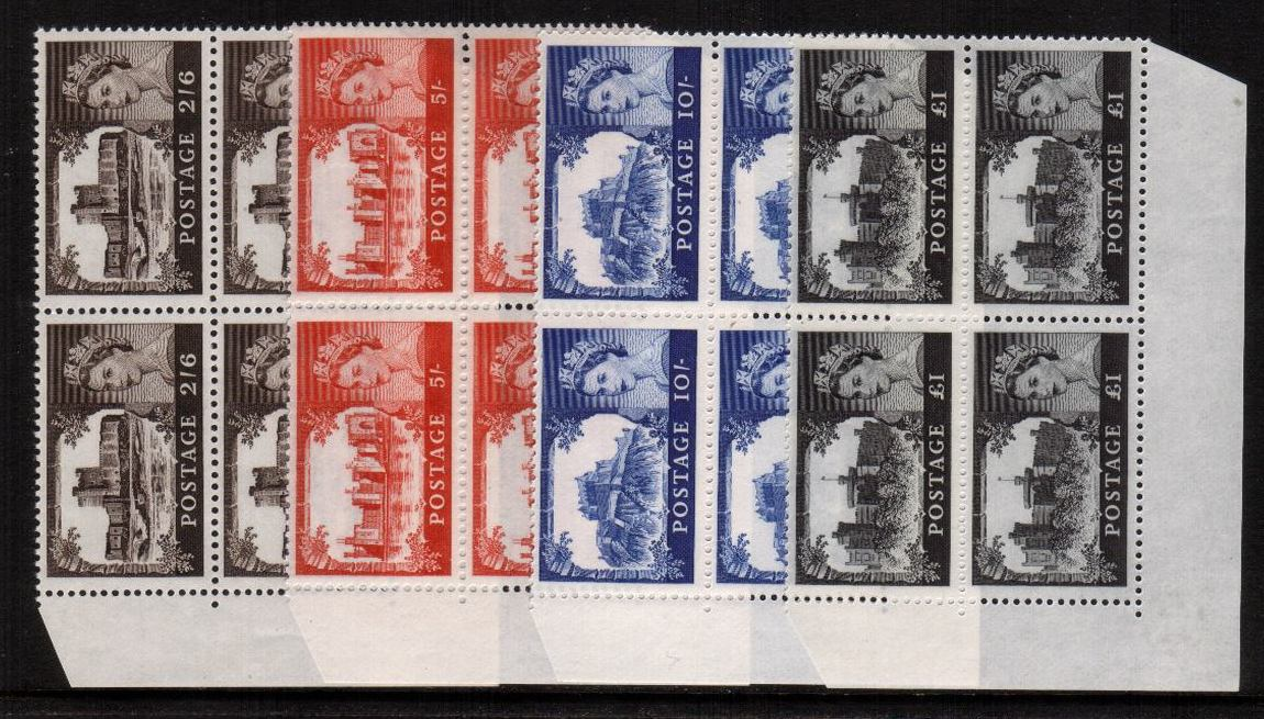 view larger image for SG 759-762 (1967) - ''Castles'' by Bradbury - No Watermark<br/>