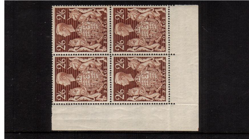 view larger image for SG 476 (1939) - 2/6d Brown<br/>