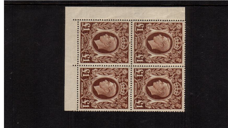 view larger image for SG 478c (1939) - �1 Brown<br/>