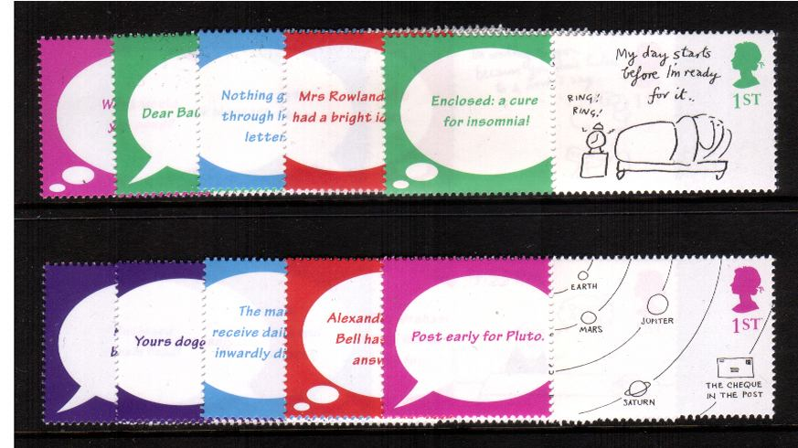 view larger image for SG LS6set (2001) - ''Greetings Cartoon''<br/>