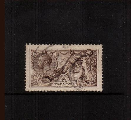 view larger image for SG 400 (1913) - <b>2/6d ''Seahorse'' Printed by Waterlow</b><Br/>