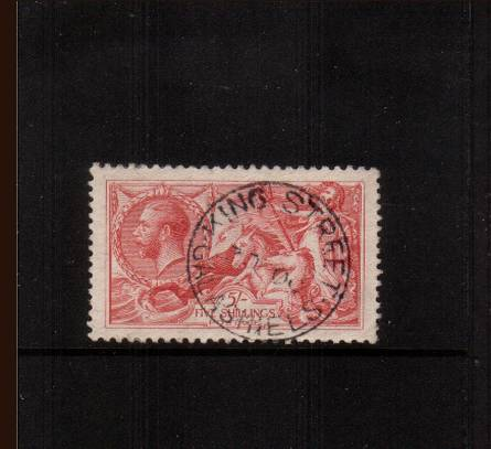 view larger image for SG 416 (1918) - <b>5/- ''Seahorse'' Printed by Bradbury, Wilkinson</b><Br/>