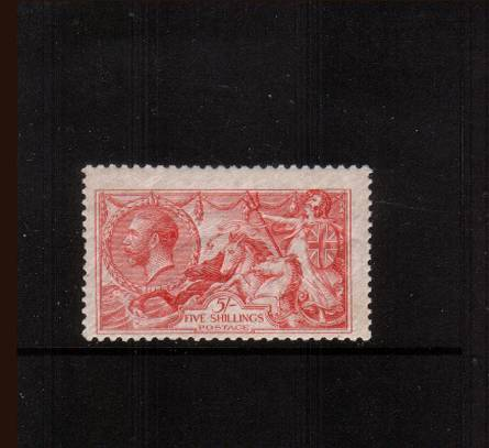 view larger image for SG 401 (1915) - <b>2/6d ''Seahorse'' Printed by Waterlow</b><Br/>