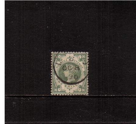view larger image for SG 211 (1887) - 1/-Dull Green<br/>