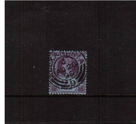 view larger image for SG 201 (1887) - 2�d Purple on Blue<br/>