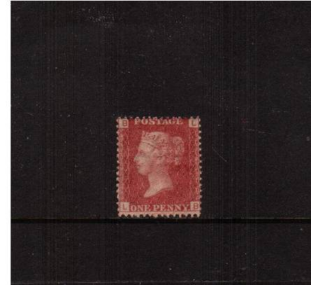 view larger image for SG 43 (1858) - 1d Rose-Red from Plate 173 lettered ''L-B''<br/>