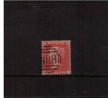 view larger image for SG 36 (1857) - 1d Rose-Red - Die II - Large Crown - Perf 16<br/>