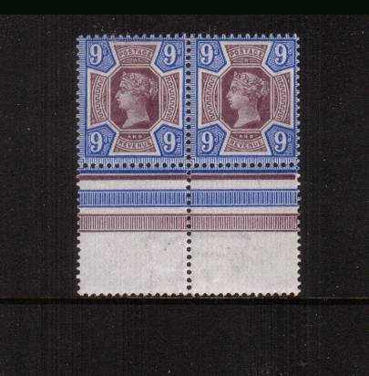 view larger image for SG 209 (1887) - 9d Dull Purple and Blue <br/>